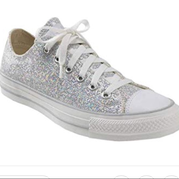 Converse Glitter Shoes.